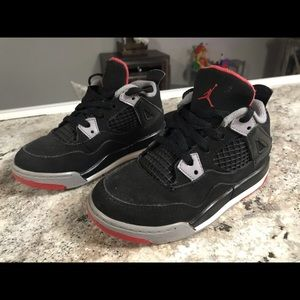 Little boys Air Jordan retro 4